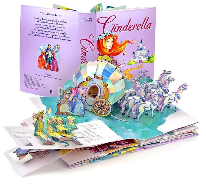Cinderella A Pop-Up Fairy Tale by Matthew Reinhart (Hardback)