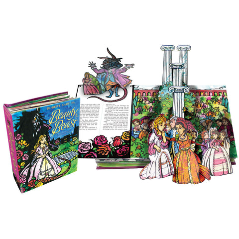 Robert Sabuda Beauty & the Beast A Pop-Up Book of the Classic Fairy Tale Singapore