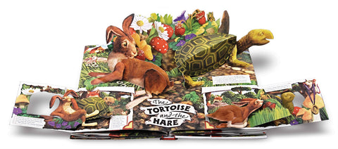 Aesop's Fables A Pop Up Book of Classic Tales Singapore