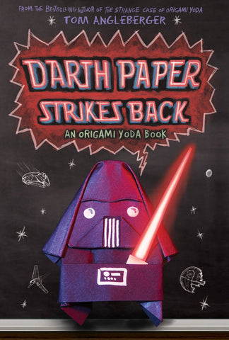 Tom Angleberger Origami Yoda #2 Darth Paper Strikes Back Singapore