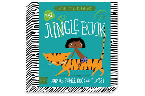 Jennifer Adams BabyLit Playset The Jungle Book Animals Primer Board Book and Playset Singapore