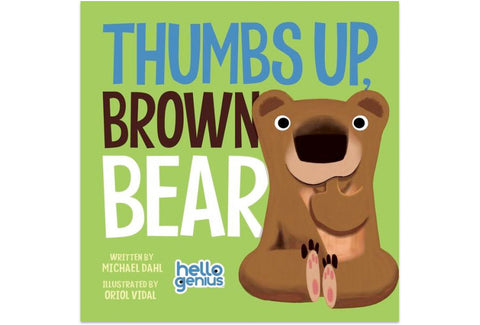 Michael Dahl Hello Genius Thumbs Up Brown Bear Singapore