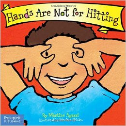 Martine Agassi Best Behaviour Series Hands Are Not For Hitting Singapore