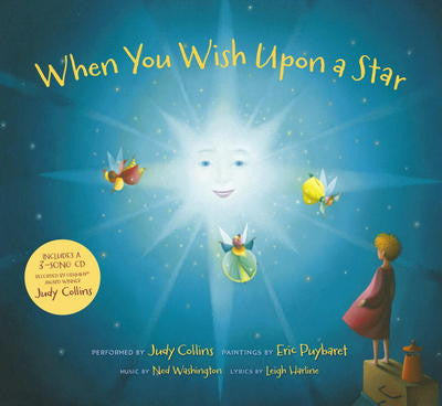 When You Wish Upon a Star by Ned Washington (Book and Audio CD)