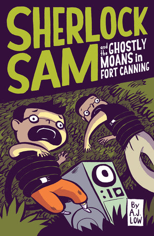 AJ Low Sherlock Sam and the Ghostly Moans in Fort Canning Book #2 Singapore