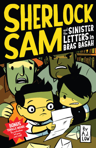 AJ Low Sherlock Sam and the Sinister Letters in Bras Basah Book #3 Singapore