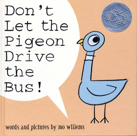 Mo Willems Don't Let The Pigeon Drive The Bus Singapore