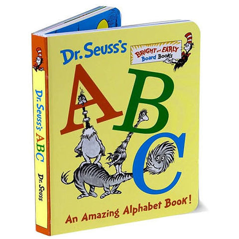 Dr Seuss ABC An Amazing Alphabet Book Singapore