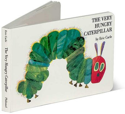 The Very Hungry Caterpillar by Eric Carle (Board Book)