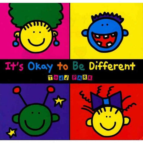 Todd Parr It's Ok To Be Different Singapore