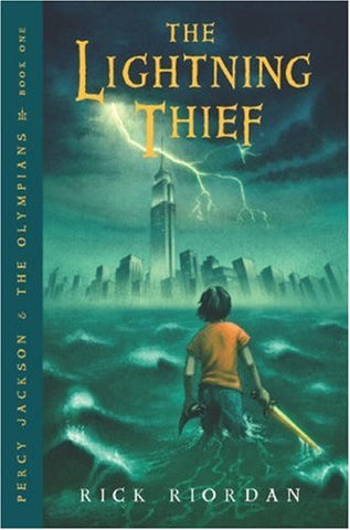 Rick Riordan Percy Jackson and the Olympians Book 1 The Lightning Thief Singapore