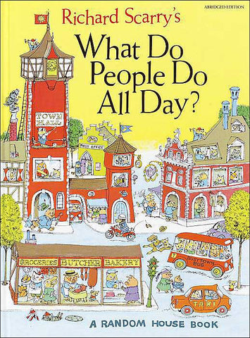 Richard Scarry What Do People Do All Day Singapore