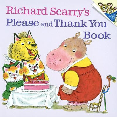 Richard Scarry Please and Thank You Book Singapore