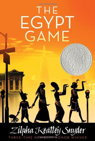 Zilpha Keatley Snyder The Egypt Game Singapore Newbery