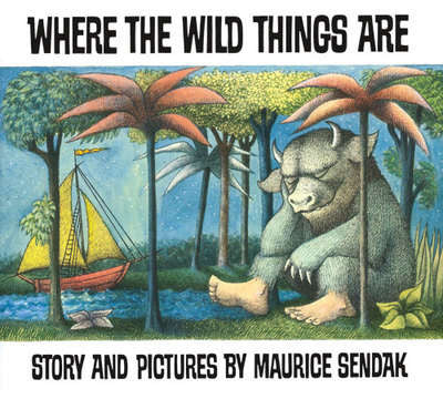Where The Wild Things Are by Maurice Sendak (Paperback) Winner of 1964 Caldecott Medal