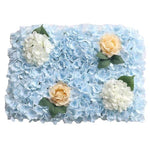 Mur Floral Mariage Turquoise