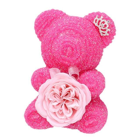 Ours en Rose Saint-Valentin Rose