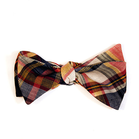 Madras Butterfly Bowtie