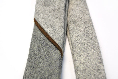 Angle Wool Necktie