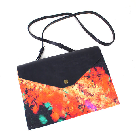 Ingi Large Clutch Bag with Removable Strap