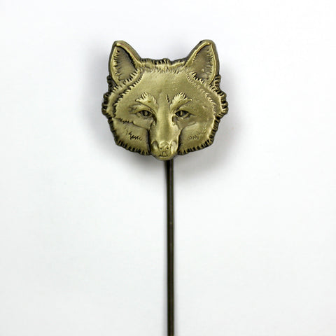 Fox Lapel Stick Pin