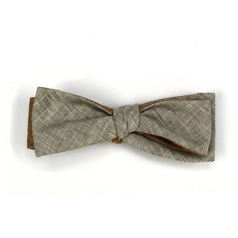 Clay Double Sided Batwing Bow Tie Skinny Vinny
