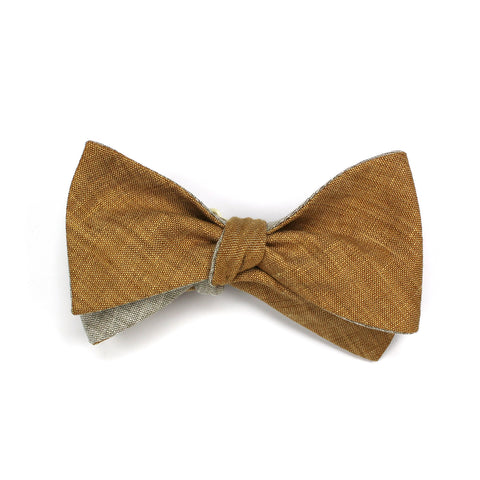 Clay Double-sided Butterfly Bow Tie