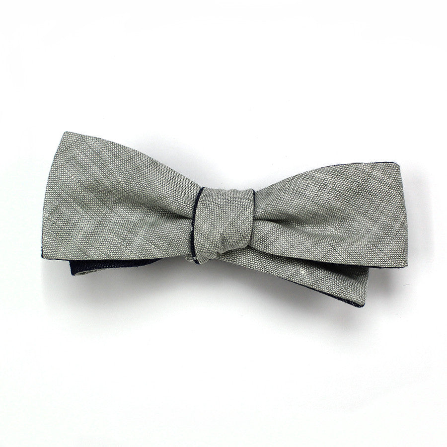Holden Double Sided Batwing Bow Tie Skinny Vinny