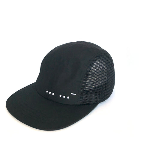 The Morse Code Five-panel Nylon Cap