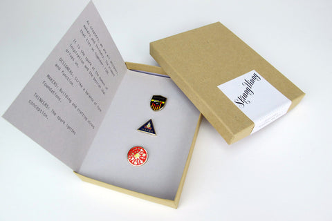 Designer, Maker, Thinker Pin Set