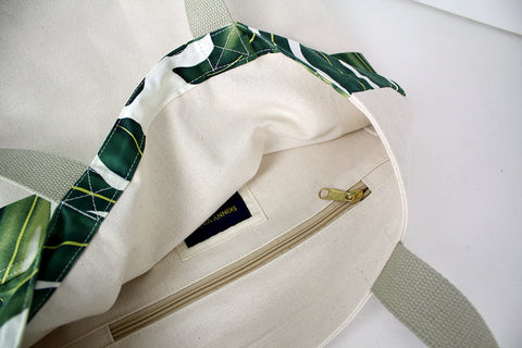 Tropical Slicker Tote