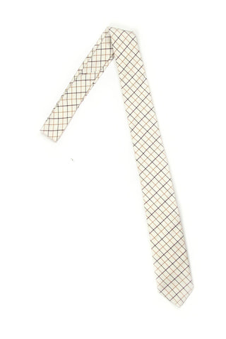 Windowpane Necktie