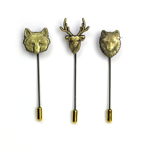 Woodland Creatures Stick Pin Set