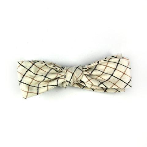 Windowpane Bowtie - Batwing