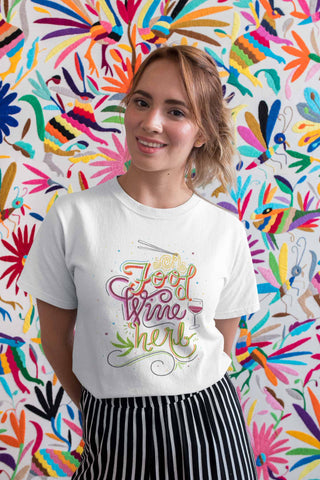 Food Wine Herb Short Sleeve Unisex T-Shirts