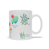 Desert Wildflower Mugs