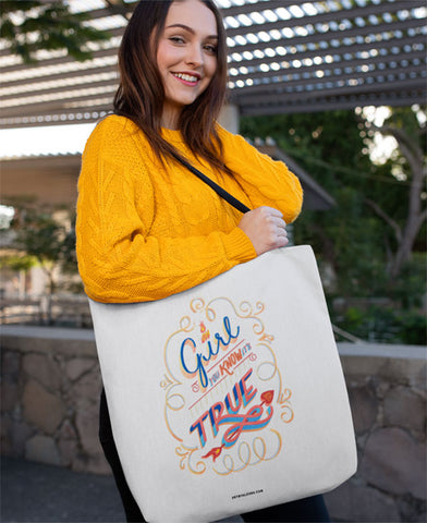 Oh Girl, You Know it's True! Tote Bags