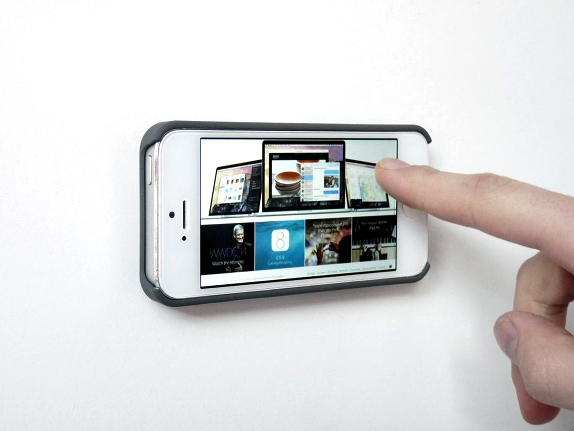 iPhone Mount Disk with Proper Wall