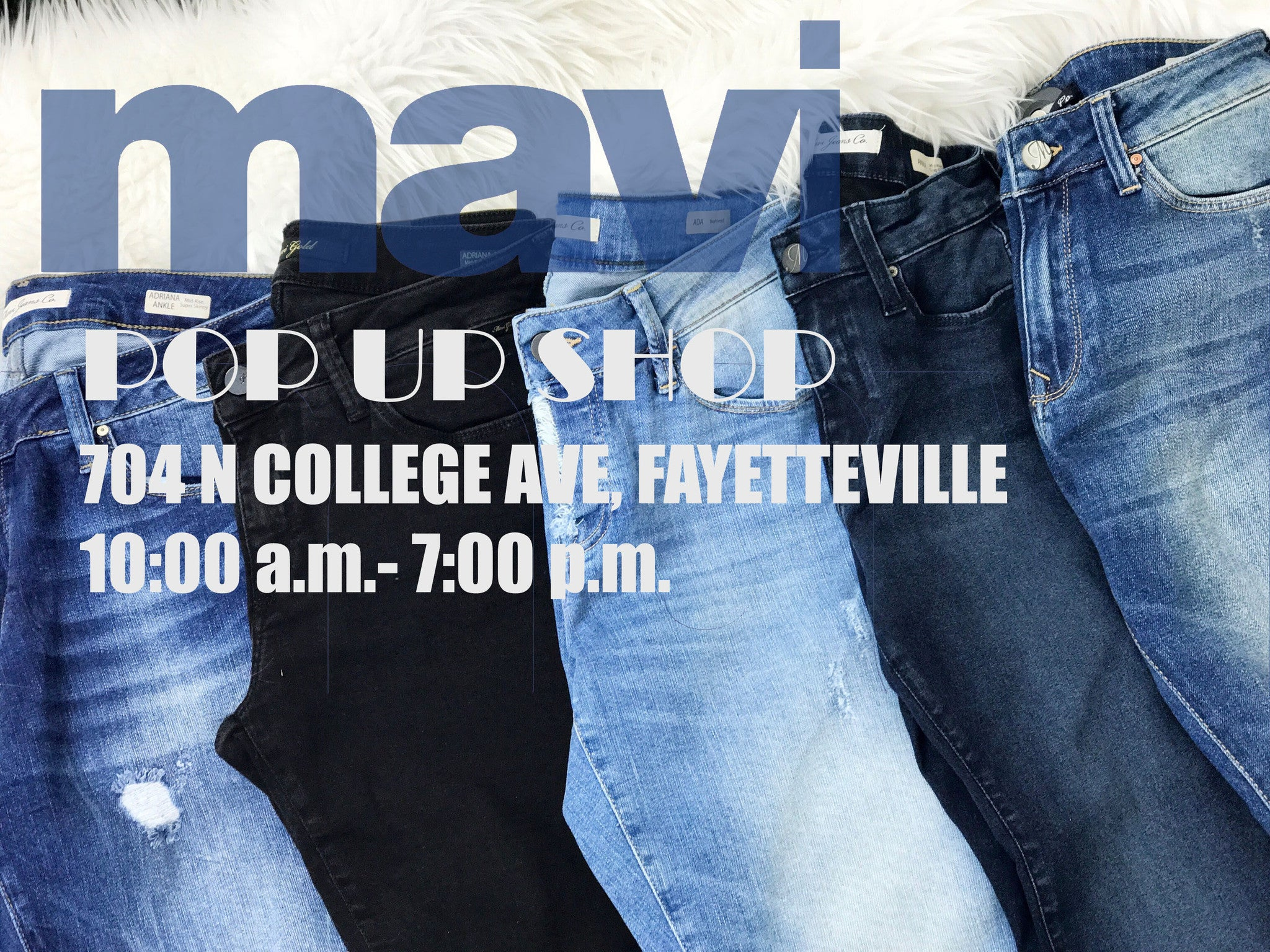 Mavi Denim Pop Up Shop