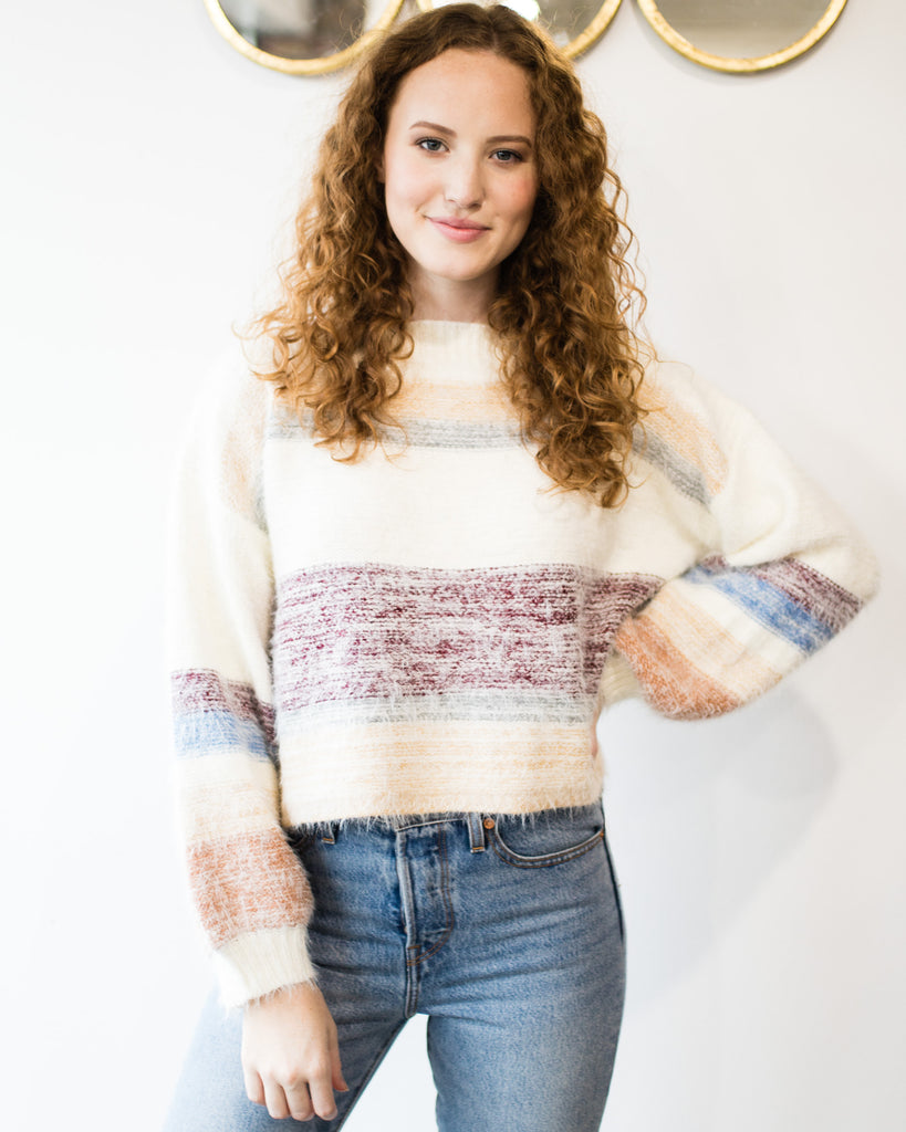 Hilda Fuzzy Sweater