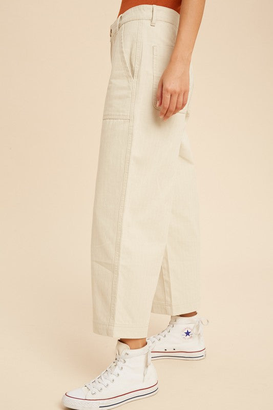 Lucie Wide Leg Pants