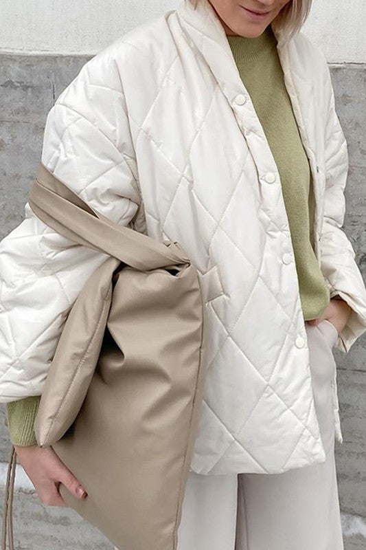 Snow White Puffer Jacket