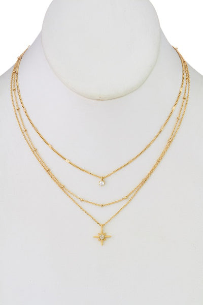 Follow The Stars Layered Necklace