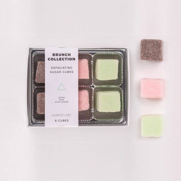 Harper + Ari - Exfoliating Sugar Cubes - Brunch Collection Gift Box