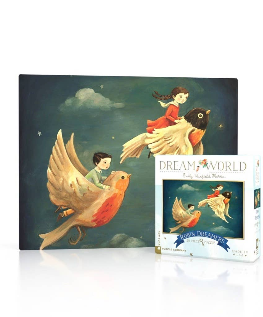 New York Puzzle Company - Robin Dreamers Mini Puzzle