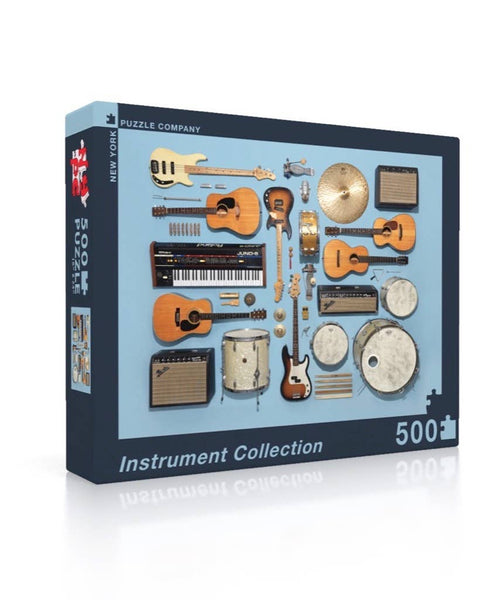 New York Puzzle Company - Instrument Collection Puzzle
