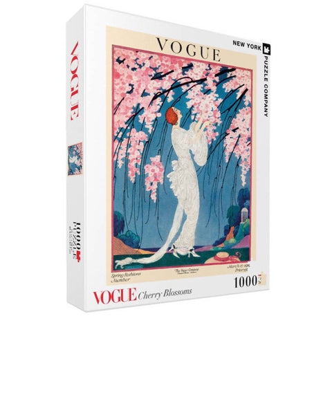 New York Puzzle Company - Cherry Blossoms Puzzle