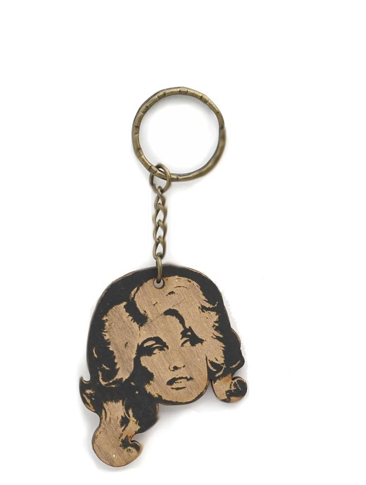 LetterCraft - Dolly Parton Keychain