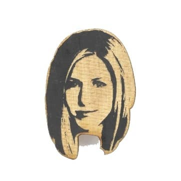 LetterCraft - Friends - Jennifer Aniston Pin