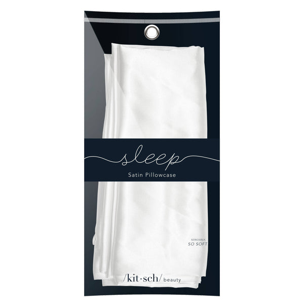 KITSCH - Ivory Satin Pillowcase